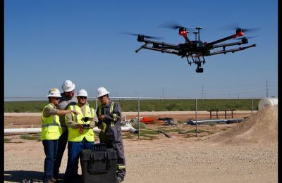 Benefits of working with drones